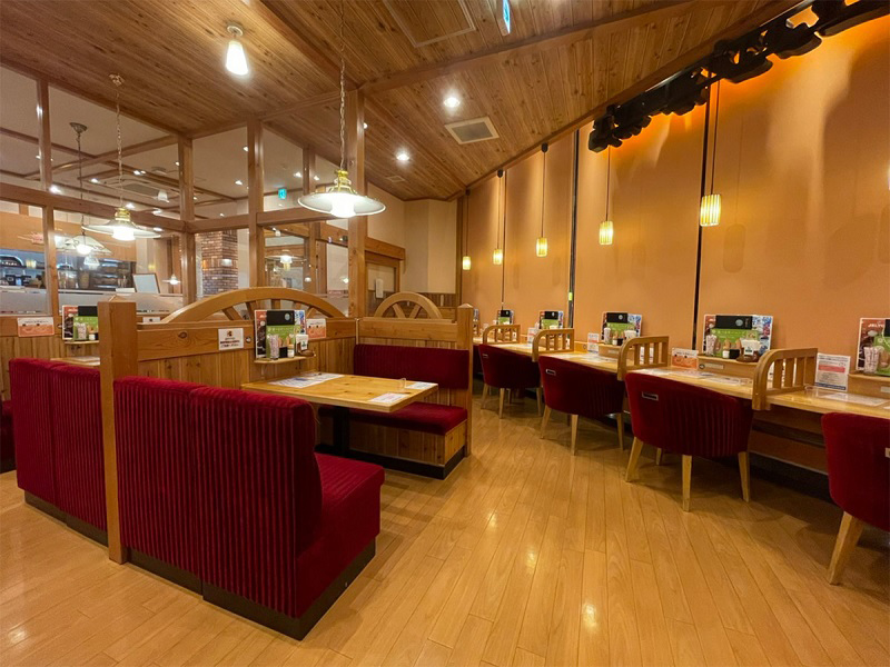 福岡の隔離ホテルの朝食場所