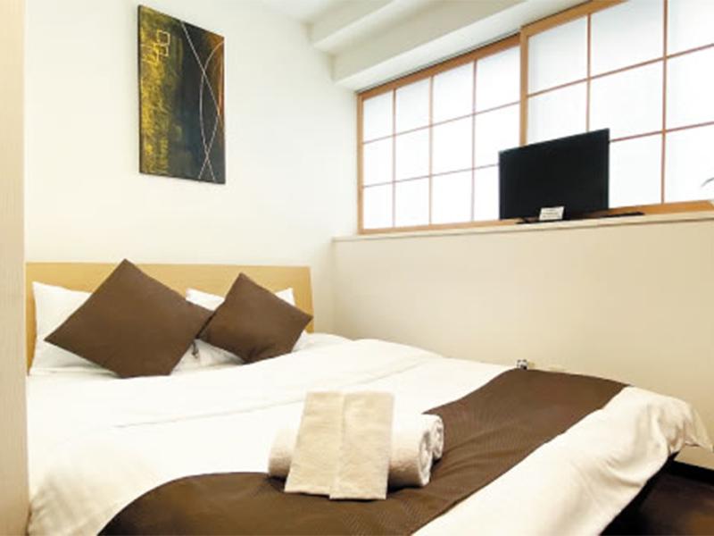 広島の隔離ホテルの部屋2